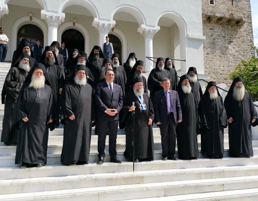 На Афоне вступил в правление новый состав Священной Эпистасии