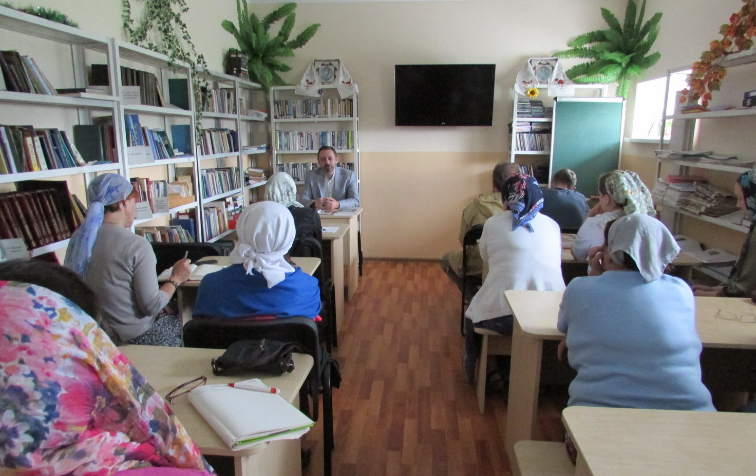 МИАН и центр «Ковчег» провели мероприятие, посвященное исихастскому наследию Афона
