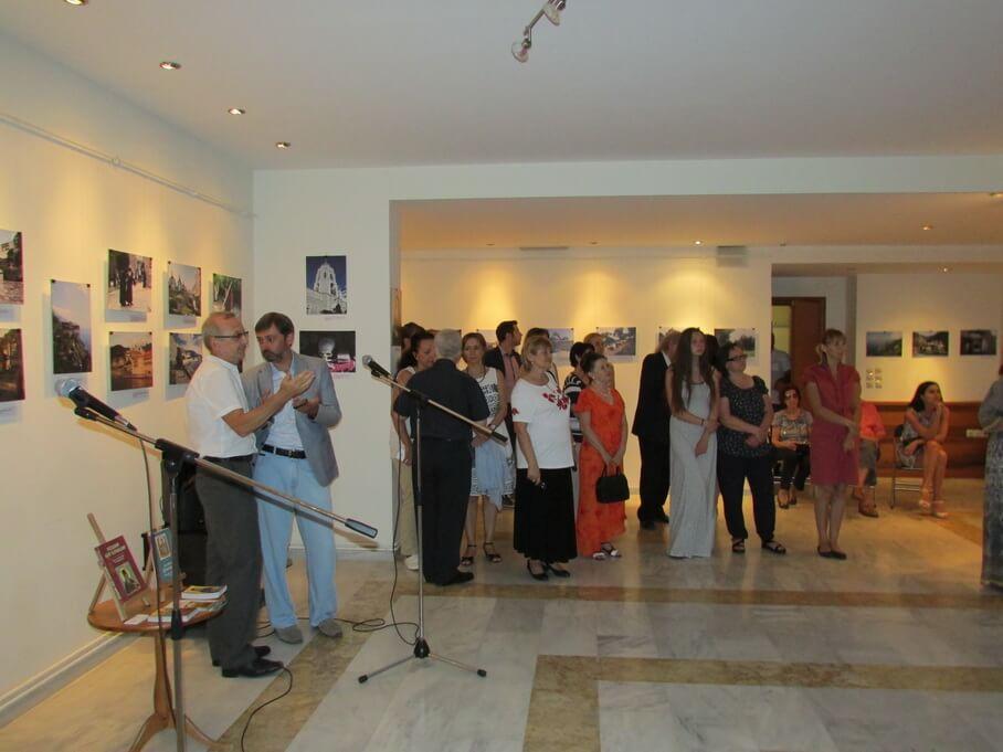 В Афинах открылась фотовыставка украинского исследователя о тысячелетней духовной связи с Афоном