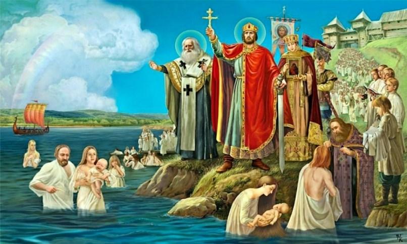 Разом з князем Володимиром Русь хрестила його дружина – візантійська царівна Анна