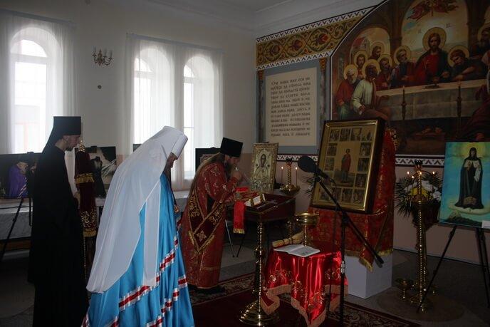 В Святогорской Лавре прошли мероприятия, посвященные памяти старца Иеремии и 1000-летию древнерусского монашества на Афоне