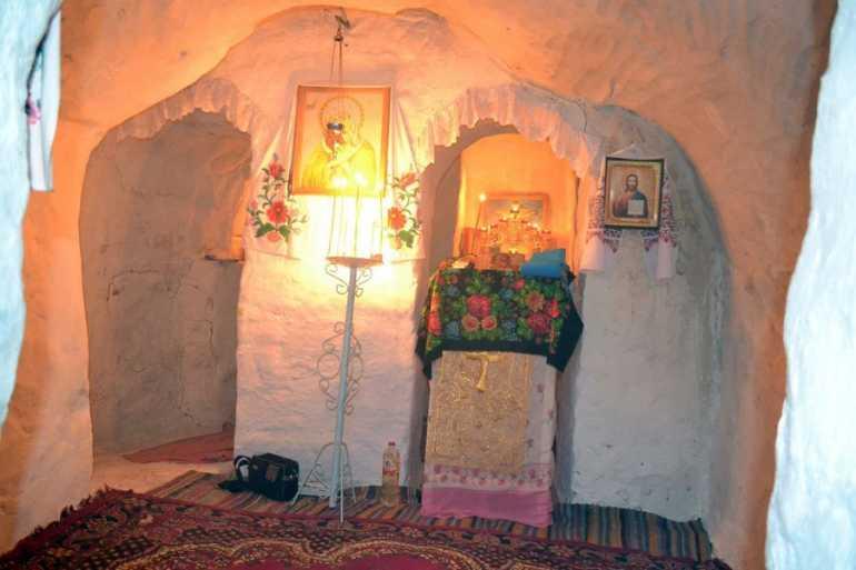 На Вінниччині збереглася столітня підземна церква, побудовна афонським монахом