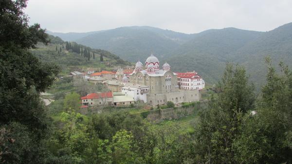 «Козацький» Свято-Іллінський скит на Афоні